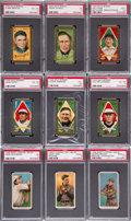 Baseball Cards:Lots, 1910's T202, T205, T206, T207, C46 and E93 Collection (140+). ...