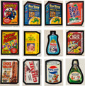Non-Sport Cards:Sets, 1967, 1973 - 1977 Topps Wacky Packages Sets Collection (17 Sets)!...