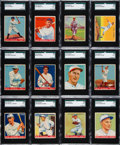 Baseball Cards:Sets, 1933 Goudey Baseball Partial Set (134/239)....