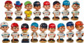 Baseball Collectibles:Others, 1960-Mid 70's Baseball Nodders Lot of 17....