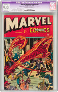 Golden Age (1938-1955):Superhero, Marvel Mystery Comics #67 (Timely, 1945) CGC Apparent VF/NM 9.0 Slight (C-1) Off-white to white pages....