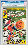 Modern Age (1980-Present):Superhero, The Amazing Spider-Man #244 (Marvel, 1983) CGC MT 9.9 Whitepages....