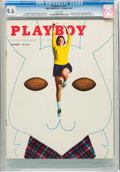 Magazines:Miscellaneous, Playboy #11 (HMH Publishing, 1954) CGC NM+ 9.6 White pages....