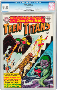 Teen Titans #1 (DC, 1966) CGC NM/MT 9.8 White pages