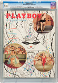 Magazines:Miscellaneous, Playboy V2#2 (HMH Publishing, 1955) CGC NM+ 9.6 White pages....
