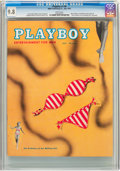 Magazines:Vintage, Playboy #8 (HMH Publishing, 1954) CGC NM/MT 9.8 White pages....