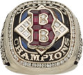 Baseball Collectibles:Others, 2004 Boston Red Sox World Series Championship Ring....