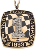 Miscellaneous Collectibles:General, 1993 PPG Indy Car Champion Pendant. ...