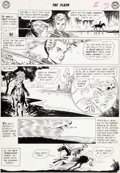 Original Comic Art:Panel Pages, Carmine Infantino and Joe Giella The Flash #116 StoryPage 2 Kid Flash Original Art (DC, 1960)....