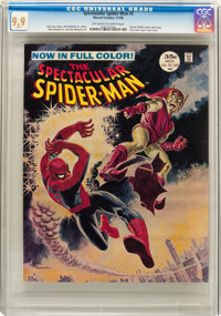 Spectacular Spider-Man #2 (Marvel, 1968) CGC MT 9.9 Off-white to white pages