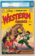 Golden Age (1938-1955):Western, Western Comics #8 Mile High Pedigree (DC, 1949) CGC NM/MT 9.8 Whitepages....