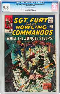 Sgt. Fury and His Howling Commandos #17 (Marvel, 1965) CGC NM/MT 9.8 Off-white to white pages