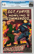 Silver Age (1956-1969):War, Sgt. Fury and His Howling Commandos #29 Rocky Mountain Pedigree (Marvel, 1966) CGC NM/MT 9.8 White pages....
