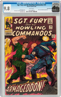 Sgt. Fury and His Howling Commandos #29 Rocky Mountain Pedigree (Marvel, 1966) CGC NM/MT 9.8 White pages
