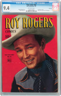 Golden Age (1938-1955):Western, Four Color #63 Roy Rogers - File Copy (Dell, 1945) CGC NM 9.4Off-white pages....