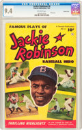Golden Age (1938-1955):Miscellaneous, Jackie Robinson #6 Crowley Copy Pedigree (Fawcett Publications, 1952) CGC NM 9.4 Off-white pages....
