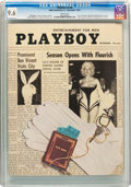 Magazines:Vintage, Playboy V2#9 (HMH Publishing, 1955) CGC NM+ 9.6 White pages....