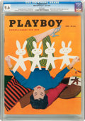 Magazines:Vintage, Playboy V2#4 (HMH Publishing, 1955) CGC NM+ 9.6 White pages....