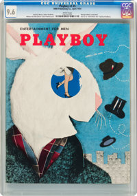 Playboy #5 (HMH Publishing, 1954) CGC NM+ 9.6 White pages