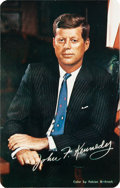 Autographs:Others, 1963 President John F. Kennedy Mourning Card Signed by Rose F. Kennedy....