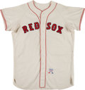 Baseball Collectibles:Uniforms, 1965 Jay Ritchie Game Worn Boston Red Sox Jersey. ...