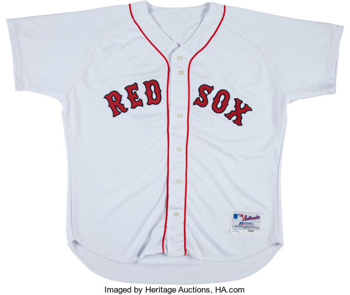 65402f592 2004 Kevin Millar Game Worn Boston Red Sox Jersey. ... Baseball ...