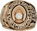 Baseball Collectibles:Others, 1970 Baltimore Orioles World Series Championship Ring Presented toOutfielder Merv Rettenmund.. ...