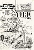 Original Comic Art:Covers, Bill Griffith Tales of Toad #3 Cover Original Art(Cartoonists Co-Op Press, 1973)....