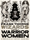 Original Comic Art:Covers, Frank Thorne Wizards and Warrior Women Portfolio CoverOriginal Art (Schanes and Schanes, 1978)....