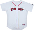 Baseball Collectibles:Uniforms, 2006 Trot Nixon Game Worn Boston Red Sox Jersey. ...