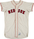Baseball Collectibles:Uniforms, 1967 Galen Cisco/Ken Harrelson Game Worn Boston Red Sox Jersey. ... (Total: 31 item)