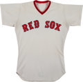 Baseball Collectibles:Uniforms, 1973 Tommy Harper Game Worn Boston Red Sox Jersey. ...