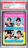 Baseball Cards:Singles (1970-Now), 1975 Topps Gary Carter - 1975 Rookie Catchers-Outfielders #620 PSAGem Mint 10....
