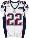 Football Collectibles:Uniforms, 2011 Stevan Ridley Game Worn, Signed New England Patriots Jersey....