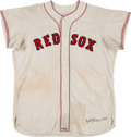 Baseball Collectibles:Uniforms, 1960's Billy Harrell Game Worn Boston Red Sox Jersey. ...