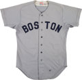 """Baseball Collectibles:Uniforms, 1981 Bill """"Soup"""" Campbell Game Worn Boston Red Sox Jersey. ... (Total: 36 item)"""