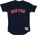 Baseball Collectibles:Uniforms, 2013 Jacoby Ellsbury Game Worn Boston Red Sox Jersey with MLB Hologram. ...