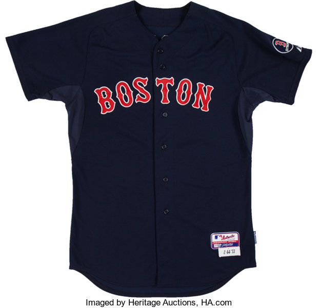 online store da58d c8050 2013 Jacoby Ellsbury Game Worn Boston Red Sox Jersey with ...