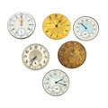 Timepieces:Other , Six Miscellaneous Movements. ... (Total: 6 Items)