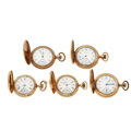Timepieces:Pocket (post 1900), Five Gold Filled Hunter's Cases. ... (Total: 5 Items)