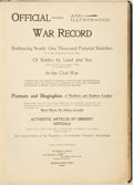 Books:Americana & American History, [Civil War]. Marcus J. Wright, Benjamin La Bree and James P. Boyd.Official and Illustrated War Record. Embracing ...