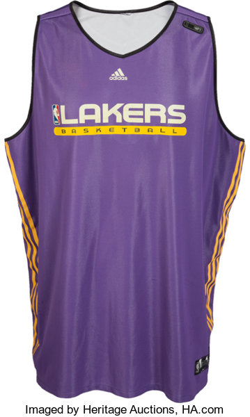 f41b699cf 2011 Kobe Bryant Practice Worn Los Angeles Lakers Jersey. ...