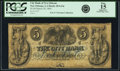 Obsoletes By State:Louisiana, New Orleans, LA - City Bank of New Orleans $5 Mar. 30, 1844 LA-20 G14c. PCGS Fine 15 Apparent.. ...