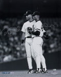 Baseball Collectibles:Photos, Circa 2010 Derek Jeter & Mariano Rivera Signed Photograph....