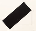 Prints, Ellsworth Kelly (1923-2015). Grand Case, 1980. Lithograph on Rives BFK paper. 30 x 34-1/2 inches (76.2 x 87.6 cm) (sheet...