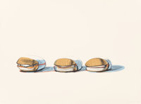 Wayne Thiebaud (b. 1920) Barbecue Beefs, from Seven Still-Lifes and a Silver Landscape, 1970