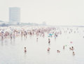 Prints, Massimo Vitali (b. 1944). Marina di Carrara, Torre Fiat, from the Landscape with Figures portfolio, 2006. Offset lit...