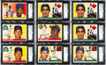 Baseball Cards:Lots, 1955 Topps Baseball Shoe Box Collection (500+). ...