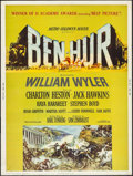 "Movie Posters:Academy Award Winners, Ben-Hur (MGM, 1960). Poster (30"" X 40""). Style Z. Academy AwardStyle. Historical Drama.. ..."
