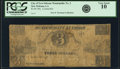 Obsoletes By State:Louisiana, New Orleans, LA - Municipality No. Three $3 ca. 1840s Contemporary Counterfeit. PCGS Very Good 10.. ...
